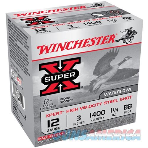 Winchester Ammo 12ga 3in Steel 1.25 1400fps #BB  Non-Guns > AirSoft > Ammo