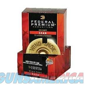Federal Wing Shok HV 12ga 2.75'' 1-3/8oz #4 25/bx  Non-Guns > AirSoft > Ammo