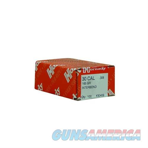 Hornady 30 CAL .308 165 GR IB  Non-Guns > Reloading > Components > Bullets