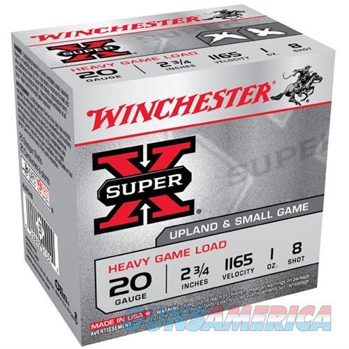 Winchester Super-X Heavy Game Load 20ga 2.75'' 1oz #8 25/bx  Non-Guns > Ammunition