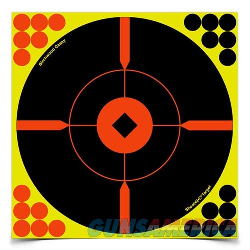 Shoot-N-C 8'' Bull's-Eye ''BMW'' Target 50 Sheet Pack  Non-Guns > Targets > Clay Throwers