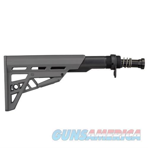 ATI AR-15 TactLite Adj Comm. Stock & Tube Assy Gray  Non-Guns > Gun Parts > Rifle/Accuracy/Sniper