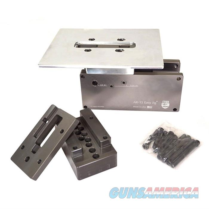 AR-15 Easy Jig (Univeral Fit) with Hardened Steel Drill Bushings  Non-Guns > Gunsmith Tools/Supplies