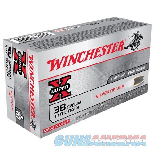 Winchester Ammo 38SPCVL 110gr STH SX SlvTipHolPt  Non-Guns > Ammunition