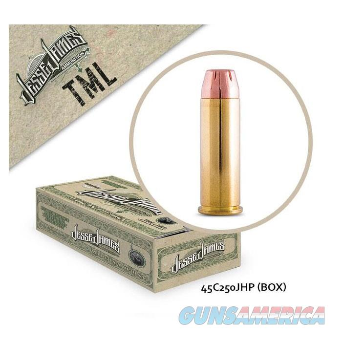 Jesse James TML 45 Colt 250gr JHP 20rd  Non-Guns > Ammunition