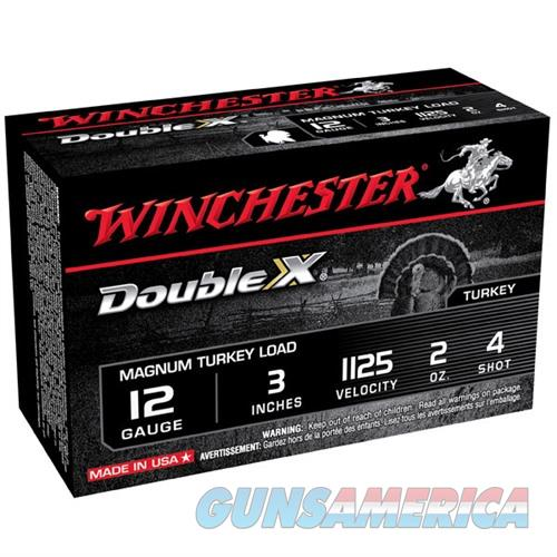 Winchester Double X Turkey 12ga 3'' 2oz #4 10/bx  Non-Guns > Ammunition