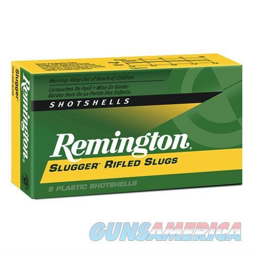 Remington Slugger 12ga 2.75 1oz Slug 5/bx  Non-Guns > Ammunition