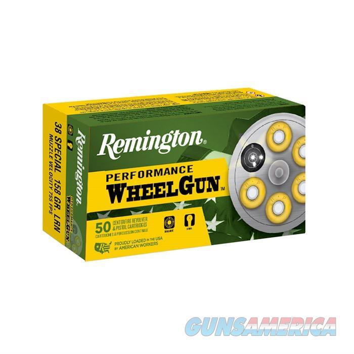 Remington Performance Wheelgun 38 SPL LRN 158 gr 50/bx  Non-Guns > Ammunition