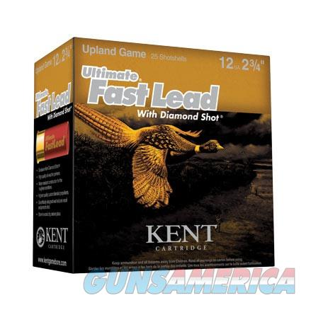 Kent Ammo Ultimate Fast Lead 12ga 2 3/4in 4 1/4dr 1400 FPS 1 1/2o  Non-Guns > Ammunition