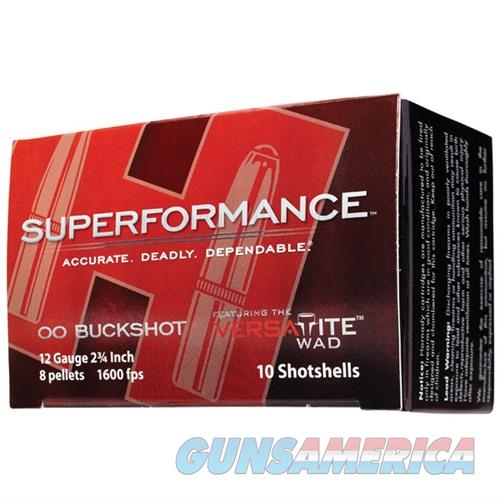 Hornady Superformance 12ga 2.75'' 8 Pellets #00 10/bx  Non-Guns > Ammunition