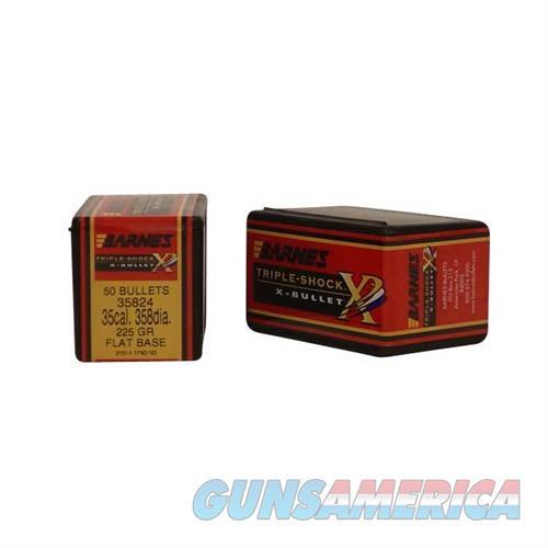 Barnes Bullet 35cal .358 Dia. 225gr TSX FB  Non-Guns > Reloading > Components > Bullets