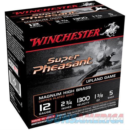 Winchester Super Pheasant 12ga 2.75'' 1-3/8 oz. #5 25/bx  Non-Guns > Ammunition