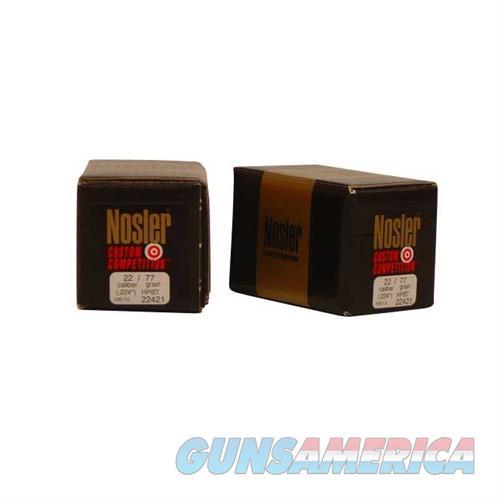 Nosler 22 Cal 77gr Custom Competition HPBT  Non-Guns > Reloading > Components > Bullets