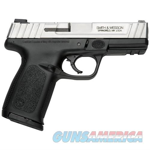 Smith & Wesson SD9 VE 9mm 4''  Barrel Stainless Low Cap.  Guns > Pistols > Smith & Wesson Pistols - Autos > Polymer Frame