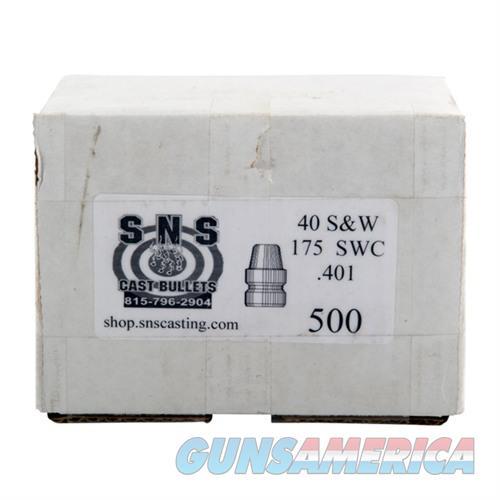 SNS CAST BULLET 40 .401 175GR SWC  Non-Guns > Reloading > Components > Bullets