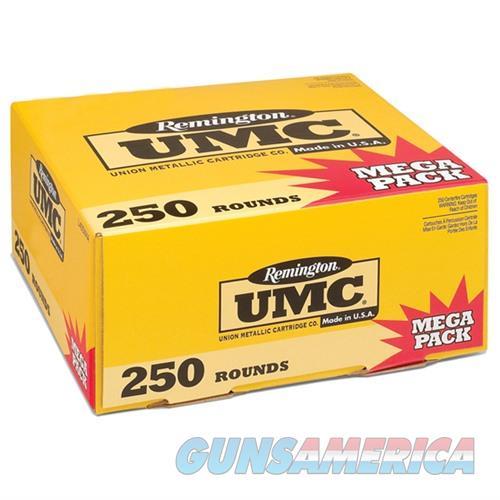 Remington UMC Mega Pack 9mm 115gr MC 250/bx  Non-Guns > Ammunition