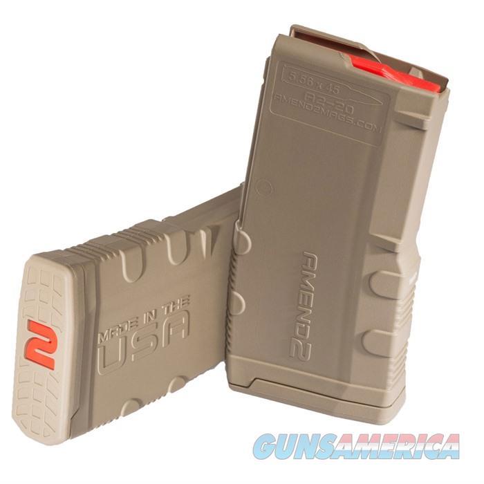 Amend2 AR-15 20rd Magazine Mod2 FDE  Non-Guns > Magazines & Clips > Rifle Magazines > Other