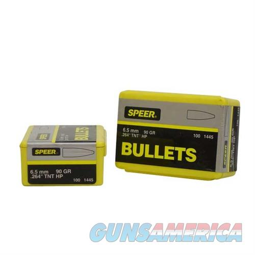 Speer Bullet 6.5MM .264 90gr HP TNT  Non-Guns > Reloading > Components > Bullets