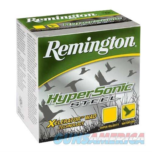 REMINGTON HYPERSONIC STEEL 12 GAUGE 3.5' 1-3/8OZ #4 25/BX  Non-Guns > Ammunition