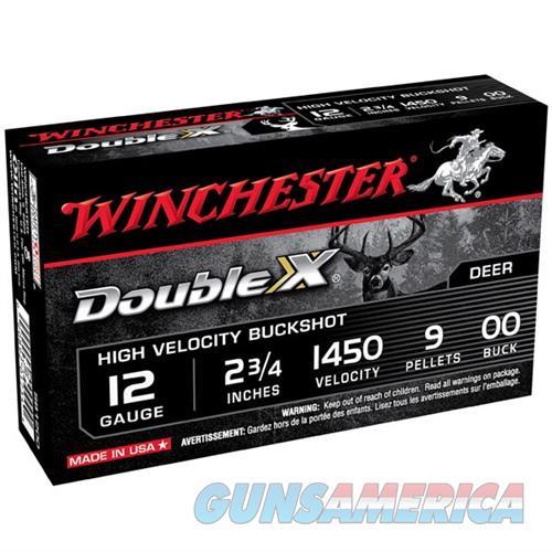 WINCHESTER DOUBLE X BUCKSHOT 12GAUGE 2.75' 9 PELLETS #00 5/BX (5  Non-Guns > Ammunition