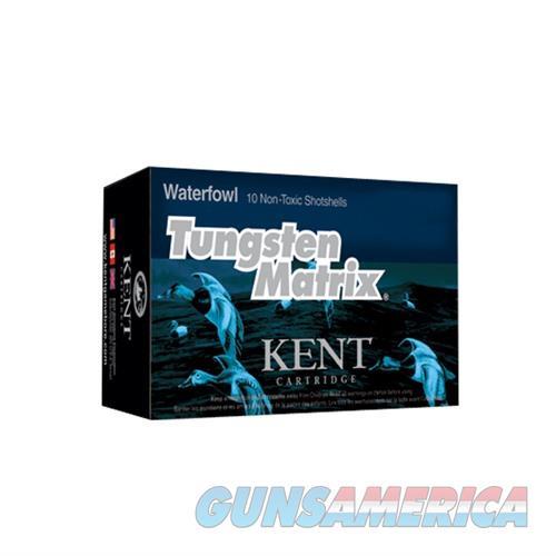 Kent Tungsten Matrix Waterfowl 12 Ga 3'' #3 10/Box  Non-Guns > Ammunition