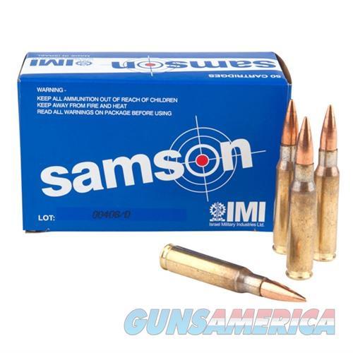 IMI Samson Ammo 7.62 NATO 150gr FMJ 50/bx  Non-Guns > Ammunition