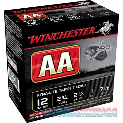 Winchester Shells 12ga 2 3/4in 2 3/4dr 1oz 7.5 Target Load  Non-Guns > Ammunition