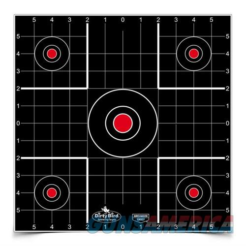 Dirty Bird 12'' Sight-In Target 100 Sheet Pack  Non-Guns > Targets > Clay Throwers