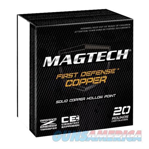 MagTech Ammo 38 Spl 95 Gr Solid Copper HP 20/bx  Non-Guns > Ammunition