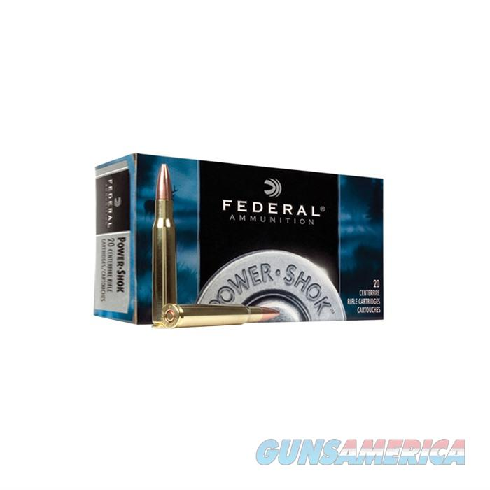 Federal Power Shok 222 Rem 50gr SP 20/bx  Non-Guns > Ammunition