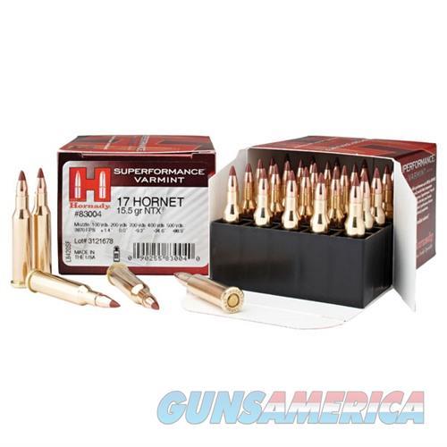 Hornady AMMO 17 HMR 15.5 GR NTX  Non-Guns > Ammunition