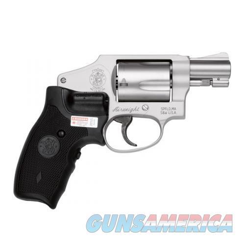 Sw 642Ct-Airweight  Ct Laser Grips Intl Hammer,.38 S&W Spl+P  Guns > Pistols > Smith & Wesson Revolvers > Pocket Pistols