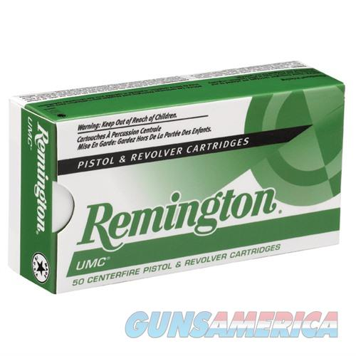 Remington UMC 40 S&W 180gr MC 50/bx  Non-Guns > Ammunition