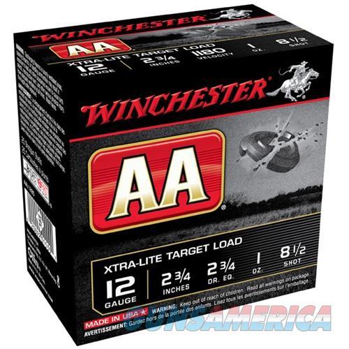Winchester Xtra-Lite Target Load 12ga 2.75'' 1 oz. #8.5 25/bx  Non-Guns > Ammunition
