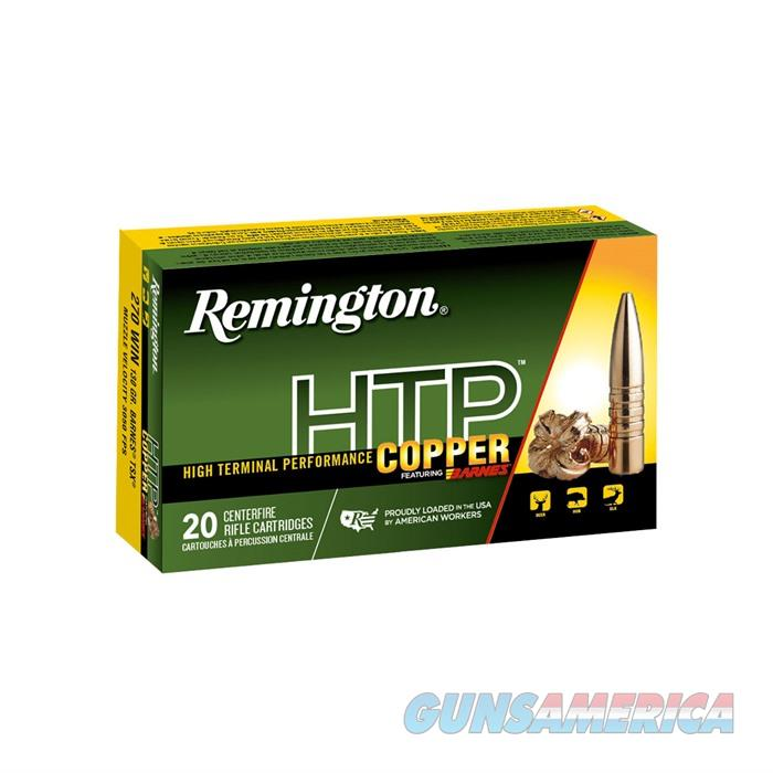 Remington HTP Copper 270 Win Barnes TSX 130 gr 20/bx  Guns > Rifles > Mossberg Rifles > Other Bolt Action
