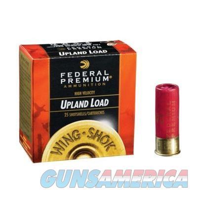 Federal Wing Shok HV 12ga 2.75'' 1-1/8oz #6 25/bx  Non-Guns > Ammunition