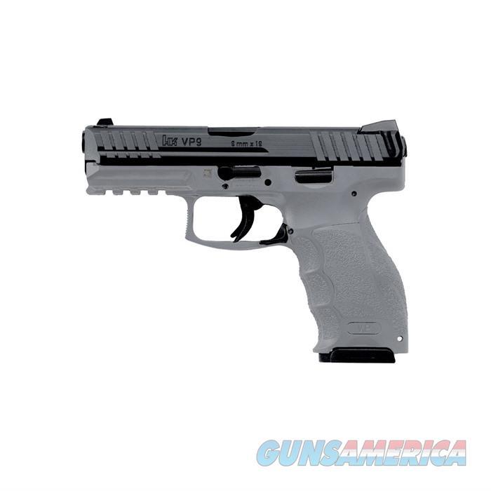 H&K VP9 grey semi auto 9mm night sights 3-15rd mags  Guns > Pistols > A Misc Pistols
