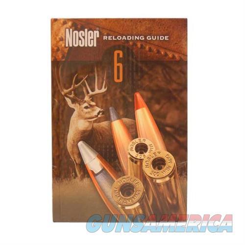 Nosler Reloading Manual #6  Non-Guns > Books & Magazines