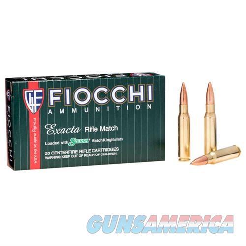 Fiocchi Exacta 308 Win 180gr SMK HPBT 20/bx  Non-Guns > Ammunition