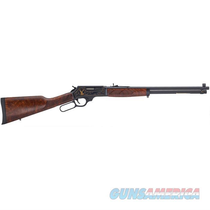 Henry 30/30 Steel Wildlife Engraved  Guns > Rifles > Henry Rifles - Replica