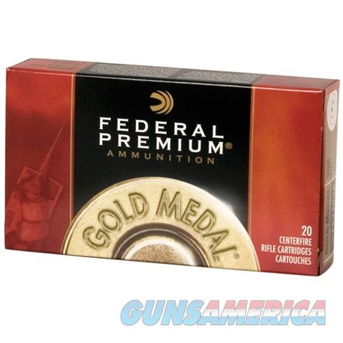 Federal Gold Medal 308 Win 175gr Matchking BTHP 20/bx  Non-Guns > Ammunition