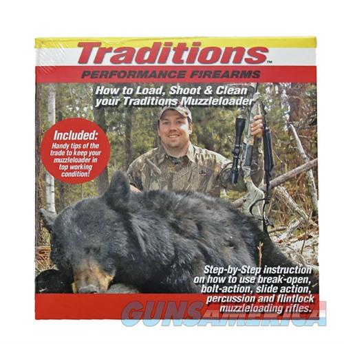 Traditions How To Load, Shoot, and Clean Your Muzzleloader DVD  Non-Guns > Gunsmith Tools/Supplies