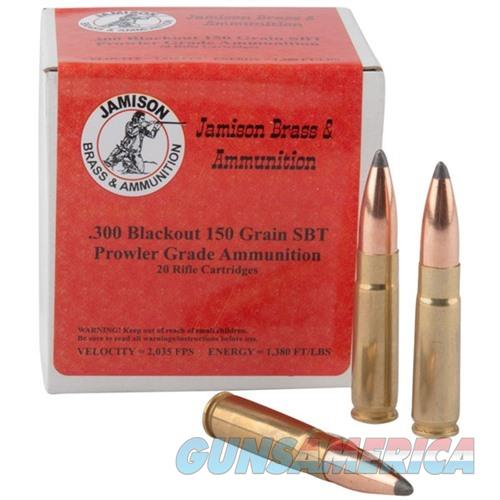 Jamison Ammo 300AAC Blackout 150Gr  Non-Guns > Ammunition