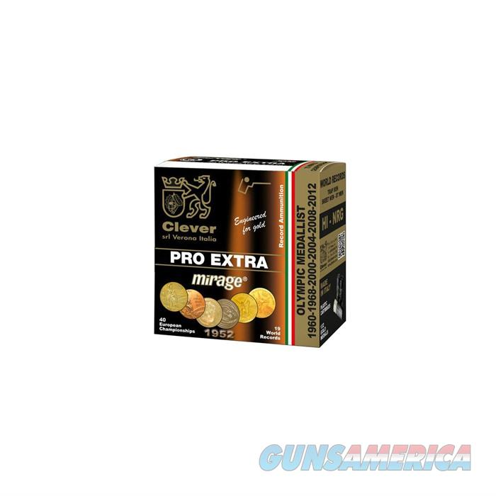 CLEVER MIRAGE PRO EXTRA 12 GAUGE MAX DR 1OZ #7.5 250/CASE (25 ROU  Non-Guns > Ammunition