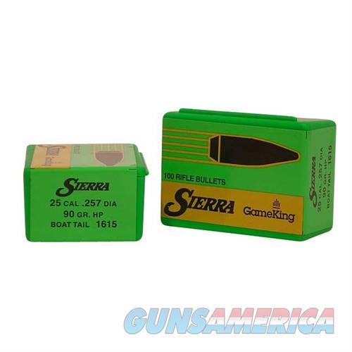 Sierra Bullet .25 .257 90gr HPBT  Non-Guns > Reloading > Components > Bullets