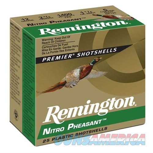 Remington Nitro Pheasant 12ga 2.75 1-1/4oz #5 25/bx  Non-Guns > Ammunition
