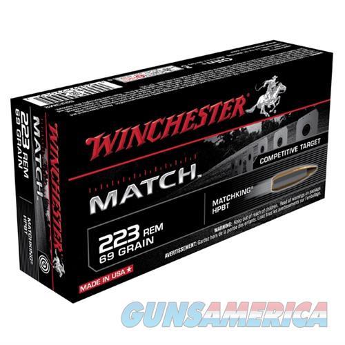 Winchester Ammo 223 69gr BTHP Match 20/bx  Non-Guns > Ammunition