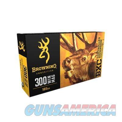 BROWNING 300 WSM 185GR 20/BOX  Non-Guns > Ammunition