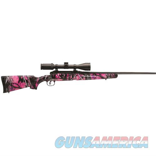 Savage Axis II XP Youth Muddy Girl 243 Win 20''  w/Weaver 3-9x  Guns > Rifles > Savage Rifles > Standard Bolt Action