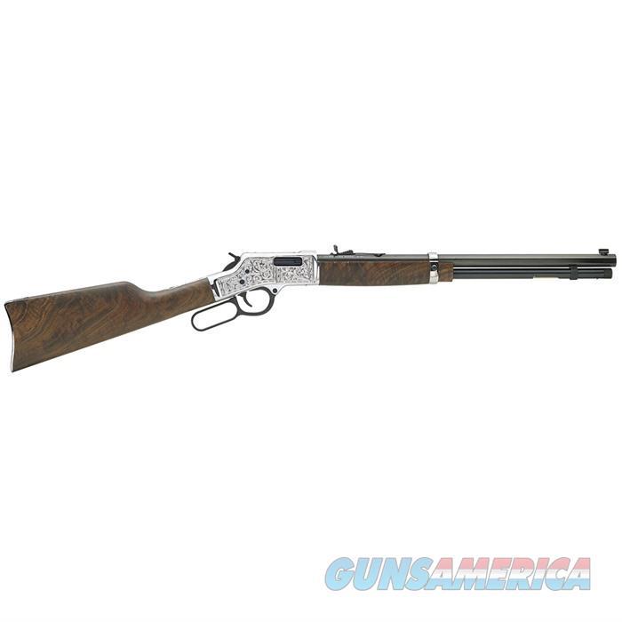 Henry Big Boy Silver 44 Mag Deluxe Engraved  Guns > Rifles > Henry Rifles - Replica